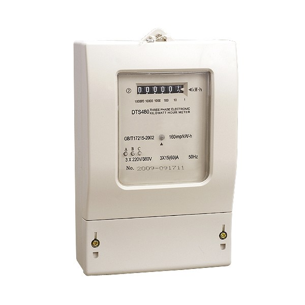 DTS480 Electronic Kilowatt Hour Meter (Three Phase)